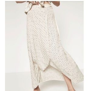 Zara knit wrap skirt